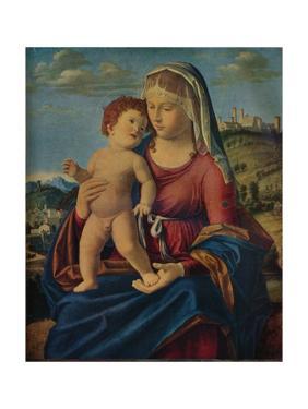 'The Virgin and Child', c1496-9 by Giovanni Battista Cima da Conegliano