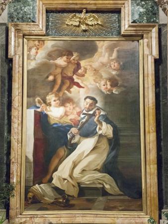 Saint Louis Bertrand in Ecstasy, 1673