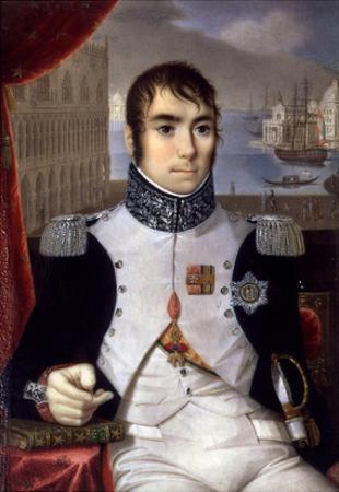 Portrait of Eugene De Beauharnais (1781-1824) Viceroy of Italy in 1805