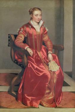 Portrait of a Lady, c.1555-60 by Giovanni Battista Moroni