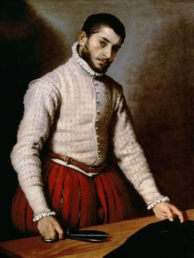 Portrait of a Man by Giovanni Battista Moroni