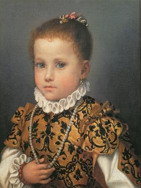 Portrait of a Young Girl by Giovanni Battista Moroni