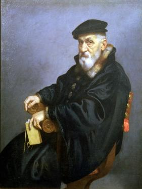 Portrait of an Old Man by Giovanni Battista Moroni