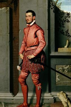 Portrait of Gian Gerolamo Grumelli, Italian Statesman and Noble, 1560 by Giovanni Battista Moroni