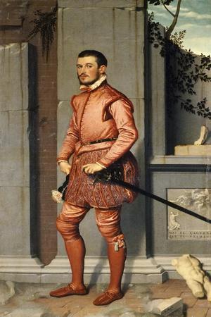 Portrait of Gian Gerolamo Grumelli, Knight in Pink