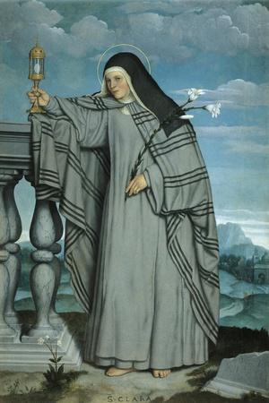 St Clare, 1548