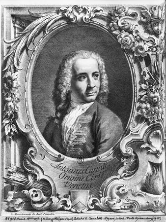 Antonio Canaletto, Rom Prospectus Magni Canalis Venetiarum, Before 1735