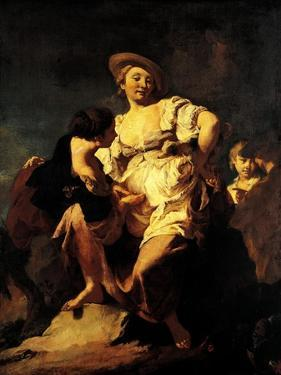 The Soothsayer, 1740 by Giovanni Battista Piazzetta