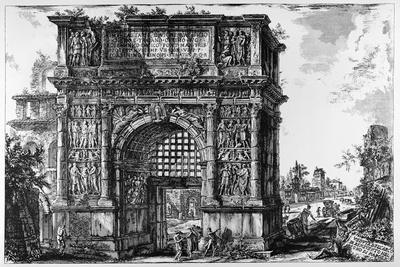 Benevento, Arch of Trajan, C.1747-78