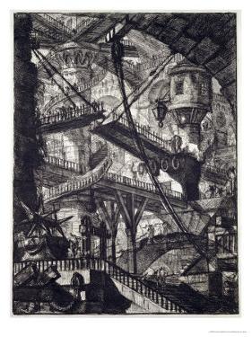 Carceri VII, 1760 by Giovanni Battista Piranesi