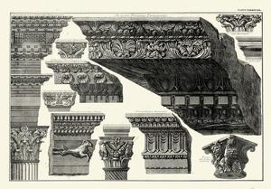Cornice Palatinis Farnesiani by Giovanni Battista Piranesi