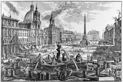 Rome, Piazza Navona, C.1747-78