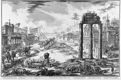 Rome, View of the Roman Forum, C.1774-78