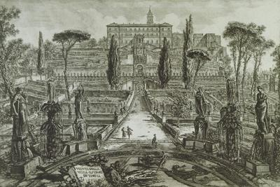 View of the Villa D'Este in Tivoli