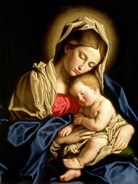 Madonna and Child by Giovanni Battista Salvi da Sassoferrato