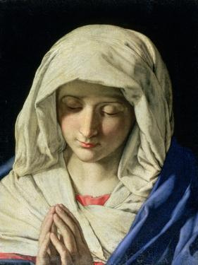 Madonna at Prayer by Giovanni Battista Salvi da Sassoferrato