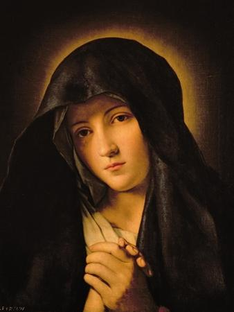 Madonna by Giovanni Battista Salvi da Sassoferrato