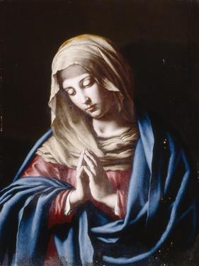 The Madonna in Prayer by Giovanni Battista Salvi da Sassoferrato
