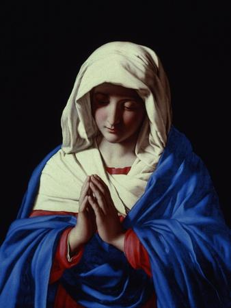 The Virgin in Prayer, 1640-50
