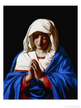 The Virgin in Prayer, 1640-50 by Giovanni Battista Salvi da Sassoferrato