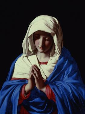 The Virgin in Prayer, 1640-50 by Giovanni Battista Salvi da Sassoferrato