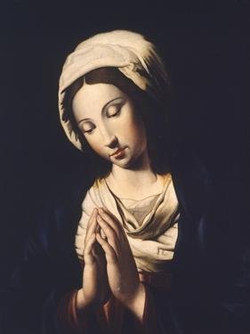 The Virgin by Giovanni Battista Salvi da Sassoferrato