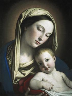 Virgin and Child by Giovanni Battista Salvi da Sassoferrato