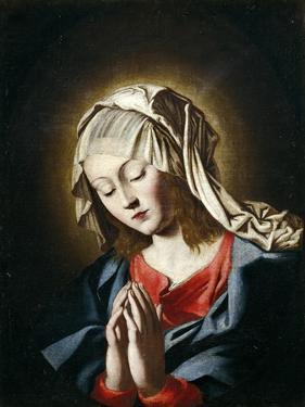 Virgin in Prayer by Giovanni Battista Salvi da Sassoferrato