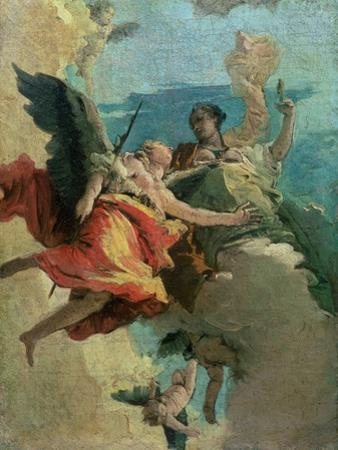 Allegorical Scene by Giovanni Battista Tiepolo