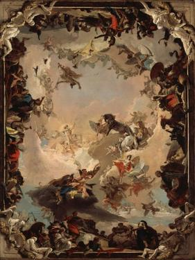 Allegory of the Planets and Continents, 1752 by Giovanni Battista Tiepolo