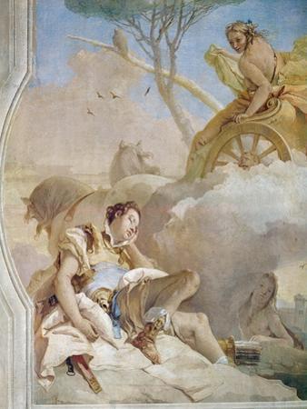 Armida Abducting Thesleeping Rinaldo by Giovanni Battista Tiepolo