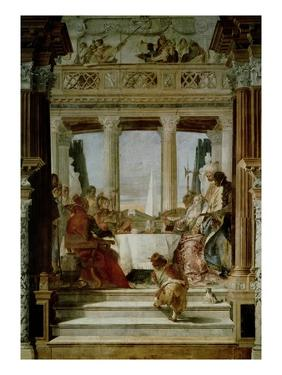 Cleopatra's Banquet by Giovanni Battista Tiepolo