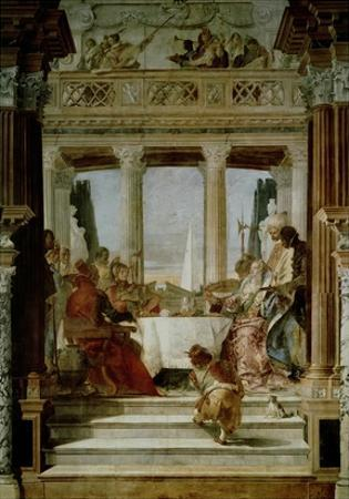 Cleopatra's Banquet by Giovanni Battista Tiepolo