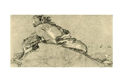 'Female Faun', c1761, (1928)