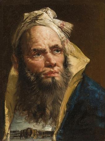 Head of a Philosopher, C.1750-55 by Giovanni Battista Tiepolo
