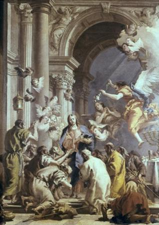 Institution of the Eucharist by Giovanni Battista Tiepolo