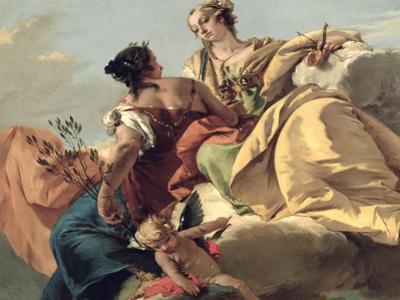 Justice and Peace by Giovanni Battista Tiepolo