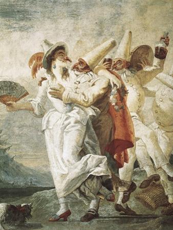 Life of Pulcinella by Giovanni Battista Tiepolo
