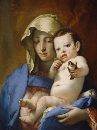 Madonna of the Goldfinch, c.1767-70 by Giovanni Battista Tiepolo