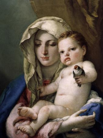 Madonna of the Goldfinch by Giovanni Battista Tiepolo