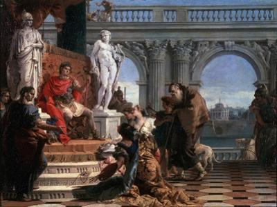 Maecenas Presenting the Arts to Augustus, 1743 by Giovanni Battista Tiepolo