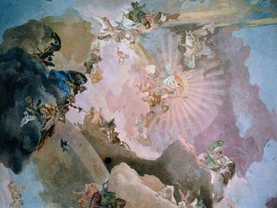 Olympus by Giovanni Battista Tiepolo