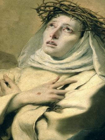 St. Catherine of Siena, circa 1746 by Giovanni Battista Tiepolo