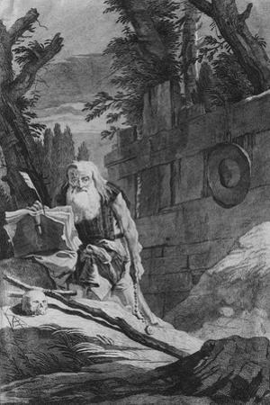 St Hilarion by Giovanni Battista Tiepolo