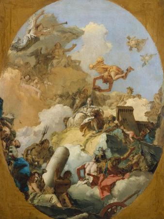 The Apotheosis of the Spanish Monarchy, c.1765 by Giovanni Battista Tiepolo