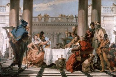 The Banquet of Cleopatra, 1743-1744 by Giovanni Battista Tiepolo