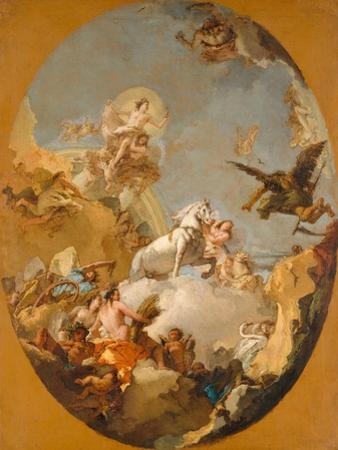The Chariot of Aurora, 1761-9 by Giovanni Battista Tiepolo