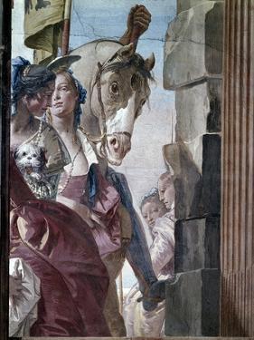 The Entourage of Cleopatra, 1746-47 by Giovanni Battista Tiepolo