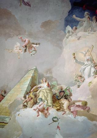 The Glory of Spain by Giovanni Battista Tiepolo