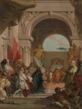 The Investiture of Bishop Harold as Duke of Franconia, c.1751-52 by Giovanni Battista Tiepolo